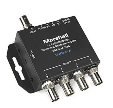 Marshall Electronics VDA-104-3GS  1x4 3GSDI Distribution Amplifier VDA-104-3GS
