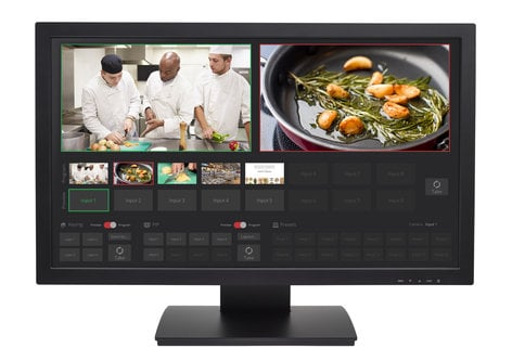 """Vaddio TeleTouch 27 [PRE-ORDER] 27"""" USB Touch-Screen Multiviewer TELETOUCH-27"""