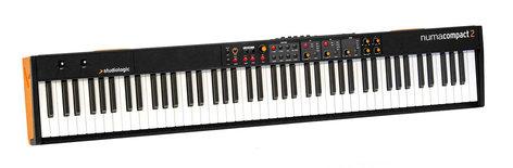 Studiologic Numa Compact 2 88-Note Semi-Weighted Keyboard, Built-in Speakers NUMA-COMPACT-2