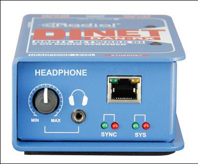 Radial Engineering DAN-RX  Dante DI receiver  DAN-RX