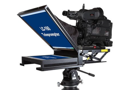 """Mirror Image Teleprompter LC-1550HB  15"""" HDMI Series High-Bright Teleprompter LC-1550HB"""