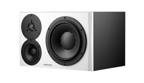 Dynaudio Professional LYD-48/L Mid & Nearfield Active 3-Way Monitor, White - LEFT LYD-48/L