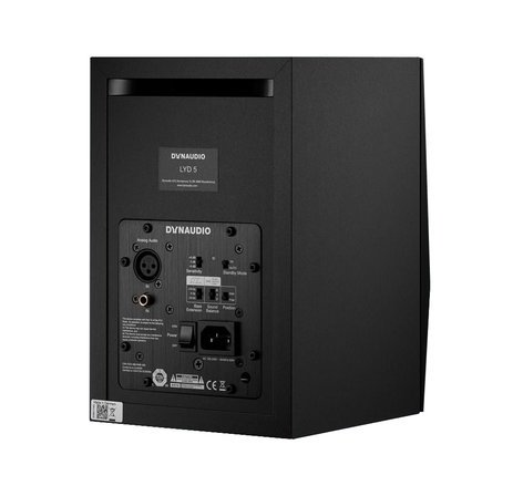 "Dynaudio Professional LYD 5 (Black) Nearfield Monitor with 5"" Woofer, 2 x 50W, in Black LYD-5B"