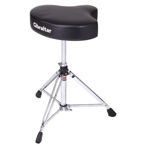 Gibraltar 6608 Motorcycle Style Vinyl Drum Throne 6608