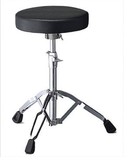 Pearl Drums D-790 Drum Throne with Vinyl-Covered Round Cushion D790