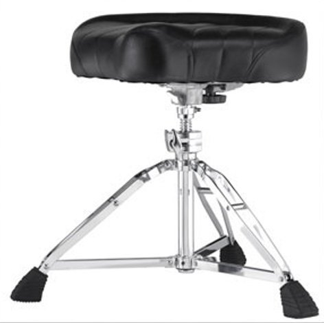 Pearl Drums D-2500 Heavy-Duty Motorcycle-Style Drum Throne D-2500