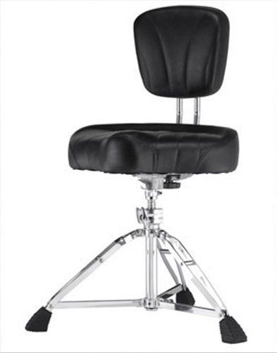 Pearl Drums D-2500BR Motorcycle-Style Cushion Throne with Back Rest D-2500BR