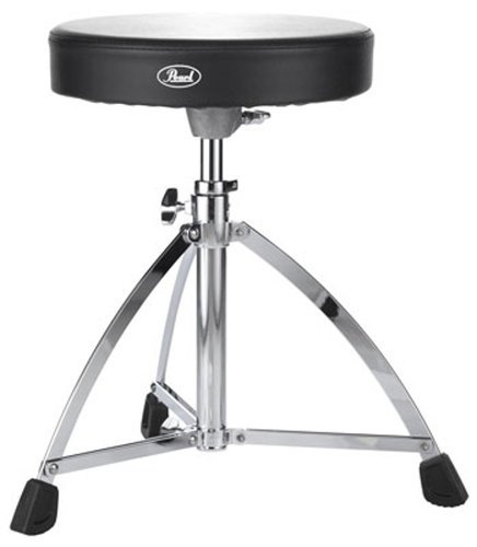 Pearl Drums D-730S Single-Braced Round Drum Throne D730S