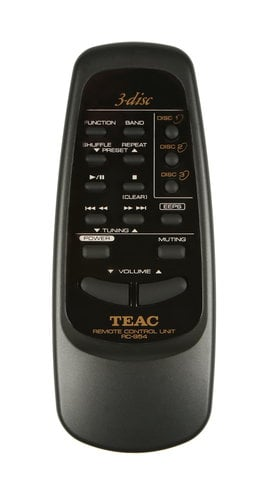 Teac RC-954 DC-D6300 Replacement Remote RC-954
