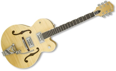 Gretsch Guitars G6120SH-BLND [DISPLAY MODEL] Brian Setzer Blonde Hot Rod Hollow Body Electric Guitar, Blonde G6120SH-BLND-DIS