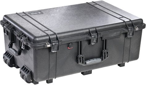 Pelican Cases PC1650NF Large Case with Wheels and WITHOUT Foam Interior PC1650NF