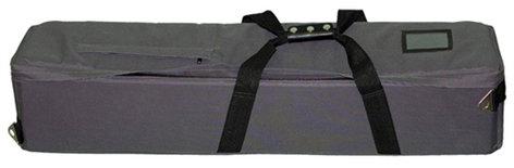 Varizoom VZTKC100A Video Tripod System with 100mm Fluid Head, Aluminum Tripod Legs, and Carry Case VZ-TKC100A