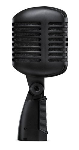 Shure Super 55 Deluxe Vocal Microphone, Black SUPER-55-BLK