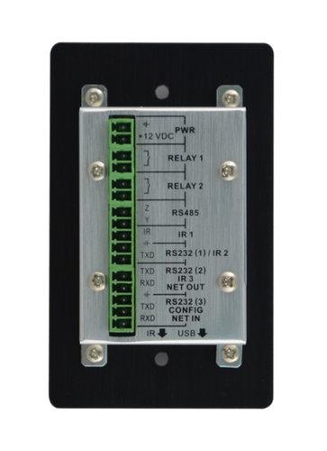 TechLogix Networx TL-WPCT-01BK  Wallplate Controller  TL-WPCT-01BK