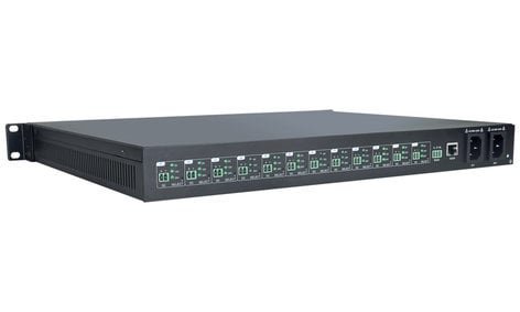 TechLogix Networx TL-RKPS-01  12 Port Rack-Mount Power Hub TL-RKPS-01
