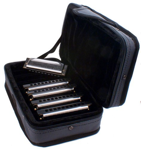 Hohner SPC Special 20 Harmonica 5-pack with C-7 Case SPC