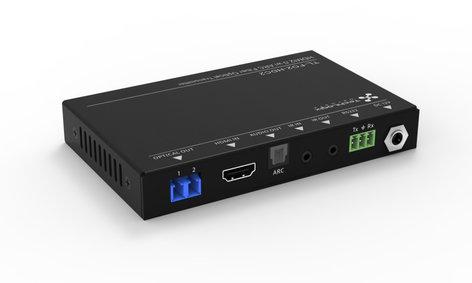 TechLogix Networx TL-FO2-HDC2  HDMI 2.0 & Control Over Two Fiber Optic Cable Extender TL-FO2-HDC2