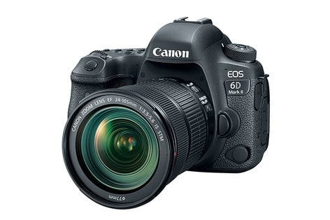 Canon EOS 6D MKII EF 24-105mm IS Kit 26.2MP DSLR with 24-105mm IS STM Lens Kit EOS-6D-MKII-24-105-S