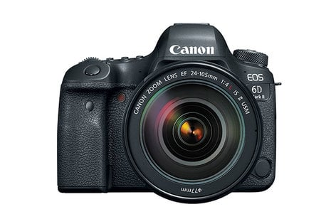 Canon EOS 6D MKII EF 24-105mm USM Kit 26.2MP DSLR with 24-105mm IS II USM Lens Kit EOS-6D-MKII-24-105-U