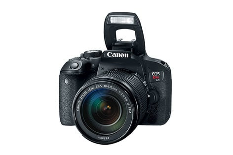 Canon EOS REBEL T7i EF-S 18-135 IS STM Kit 24.2MP APS-C DSLR with18-135mm Zoom Lens EOS-REBEL-T7I-18-135