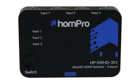 TechLogix Networx HP-SWHD-3X1  3x1 HDMI Switcher HP-SWHD-3X1