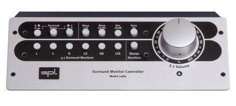 SPL Sound Performance Lab SMC [RESTOCK ITEM] Surround Monitor Contoller - Model 2489 SMC-RST-02