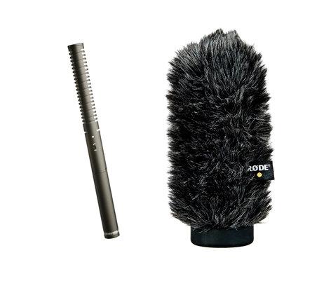 Rode NTG2/WS6 [PROMO] Condenser Shotgun Microphone with WS6 Windshield NTG2-PROMO