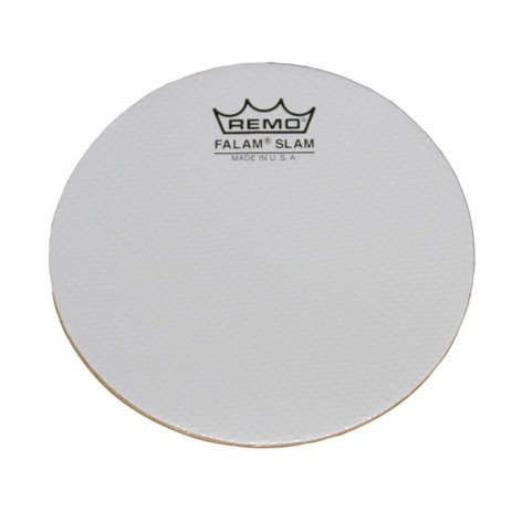 "Remo KS0002-PH 2-Pack of 2"" Single Kick Falam Slam Drum Head Pads KS0002-PH"