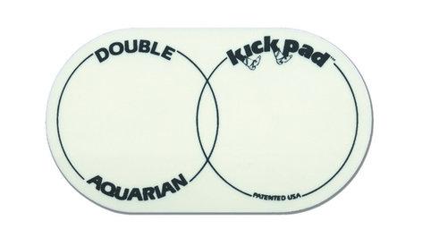 Aquarian Drumheads DKP2 Double Kick Pad for Kick Drum DKP2-AQUARIAN
