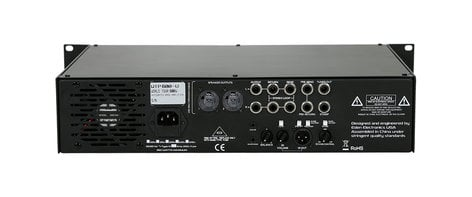 Eden Amplification WTP600 600W World Tour Pro Bass Amplifier Head WTP600