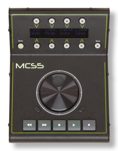 JLCooper MCS5  USB Media Control Station with LCD Button Labels MCS5