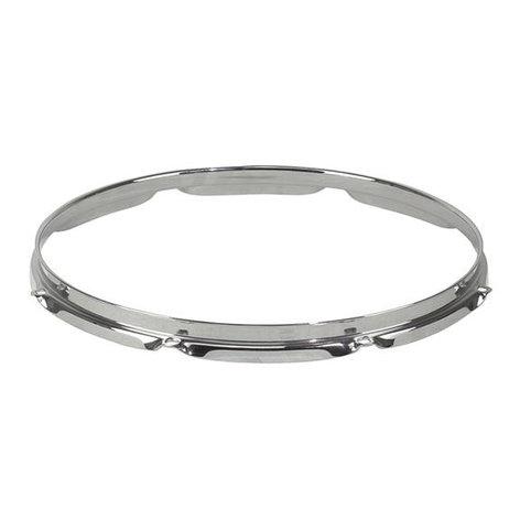 """Pearl Drums SH1608 Super Hoop II 8-Lug Chrome Drum Hoop for 16"""" Drums SH1608"""