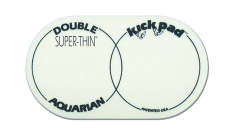 Aquarian Drumheads STKP2 Super Thin Double Kick Pad STKP2
