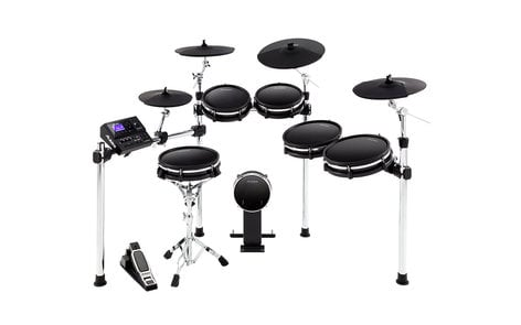 Alesis DM10MKII-PRO DM10 MKII Pro Kit Ten-Piece Electronic Drum Kit with Mesh Heads DM10MKII-PRO