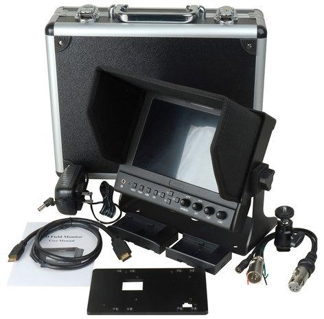 """TecNec DELV-WFORM-7  7"""" On-Camera HDMI Monitor with Video Waveform  DELV-WFORM-7"""