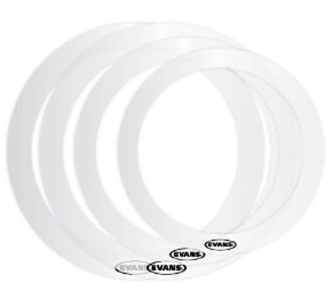 "Evans ER-FUSION E-Rings Fusion PrePak: 10"", 12"", (2) 14"" ER-FUSION"