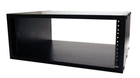 Gator Cases GR-STUDIO-4U 4RU Studio Rack Cabinet, Black GR-STUDIO-4U