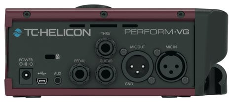 TC Helicon PERFORM-VG Mic-Stand-Mount Effects Processor for Vocals and Acoustic Guitar PERFORM-VG