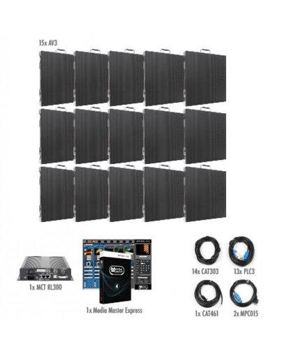 ADJ AV3X-IS-5x3 5x3 AV3 Video Wall Package for Permanent Installation AV3X-IS-5x3