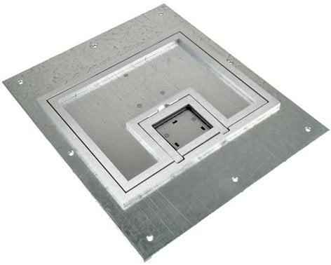 "FSR, Inc FL-500P-SSQ-C  FL-500P Full Access Lift Off Cover with 1/4"" Square Aluminum Flange FL-500P-SSQ-C"