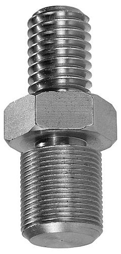 The Light Source MICAM 5-13X 75 Mic Stand Adapter, Male To Male, 1/2-13 Stud