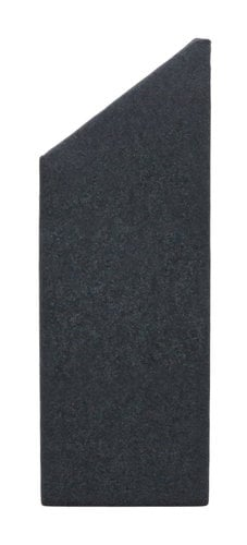 Clearsonic ST2466 5.5 ft x 2 ft Trapezoidal SORBER Lid Side Panel in Dark Grey ST2466