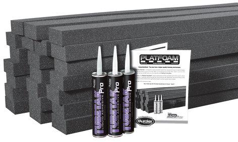 "Auralex PlatFoam 24 Pack of 2"" x 4 ft x 4 ft Isolation Foam with TubeTak PLATFOAM"