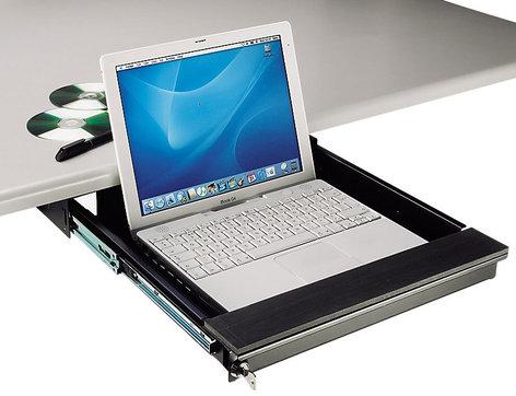 TecNec TN-LTD [RESTOCK ITEM] Under Desk Mount Lockable Drawer TN-LTD-RST-02