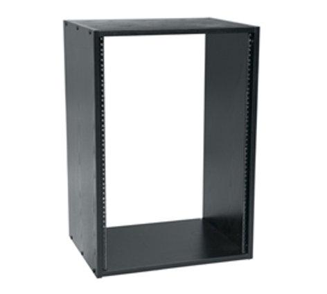"Middle Atlantic Products BRK16-28 16 RU, 28"" D Black Laminate Rack BRK16-28"