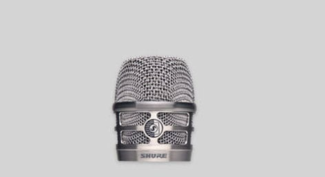 Shure RPM268 Recplacement Grille Nickle for KSM8 and RPW170 RPM268