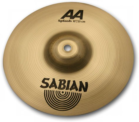 "Sabian 21005 10"" AA Splash Cymbal in Natural Finish 21005"