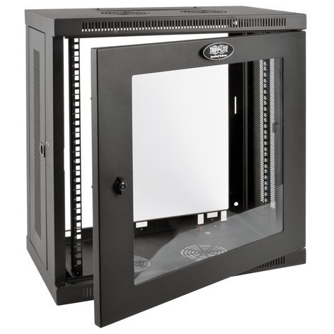 Tripp Lite SRW12U13G SmartRack Wall-Mount Rack Cabinet with Clear Window SRW12U13G