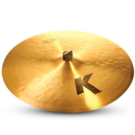 """Zildjian K0832 22"""" K Light Ride Cymbal K0832"""