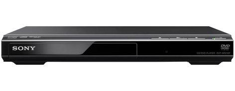 Sony DVP-SR210P/B DVD Player, Black DVPSR210P/B